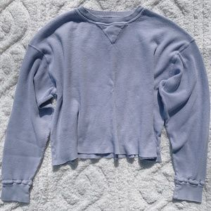 periwinkle laila thermal top